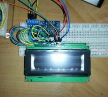 (Week 13) Testing with 16×2 LCD screen and Raspberry Pi using Fritzing