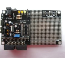RKPTmdc Prototype PCB with Header for use with Raspberry PI