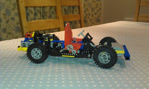Raspberry Pi Powered Lego Car