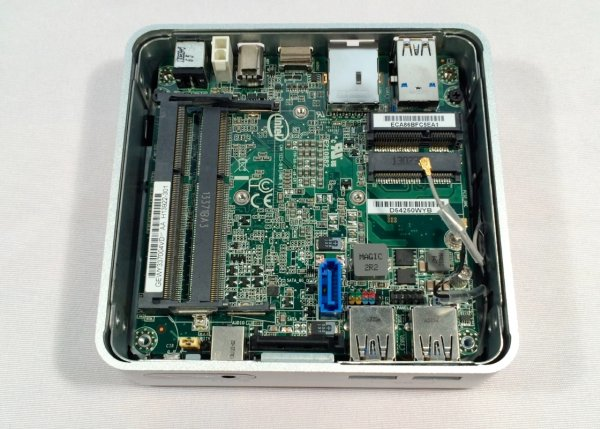 Smallness über alles Intels tiny Haswell-based NUC desktop reviewed Schematic