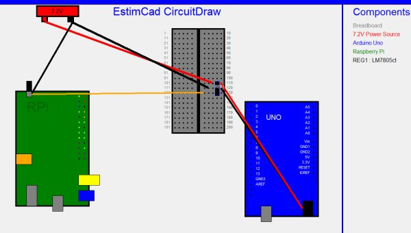 Using CircuitDraw to create electronics diagrams