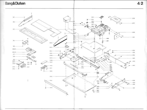1979 Bang & Olufsen Raspberry Pi Internet Radio Schematic