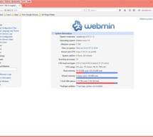 Adding Webmin to manage a Raspberry Pi
