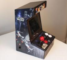 Bartop Mini Retro Arcade – Raspberry Pi and Customised Icade