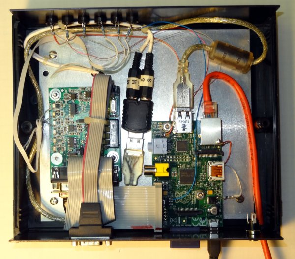 Building a Raspberry Pi IRLP Node schematic