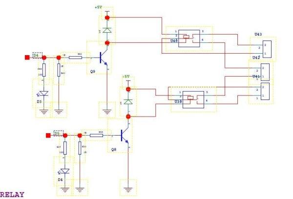Control a Lionel Train with a Raspberry Pi schematic