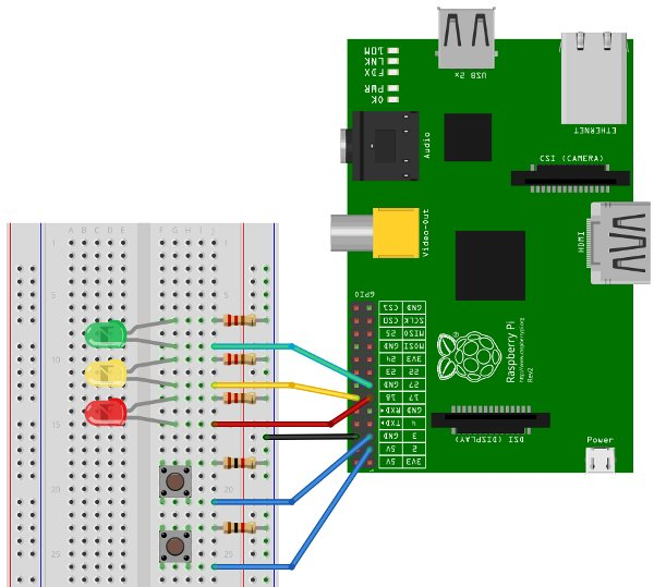 Learn How to Use Raspberry Pi GPIO Pins With Scratch schematic
