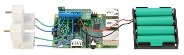 Motor Driver DRV8835 (for Raspberry Pi)
