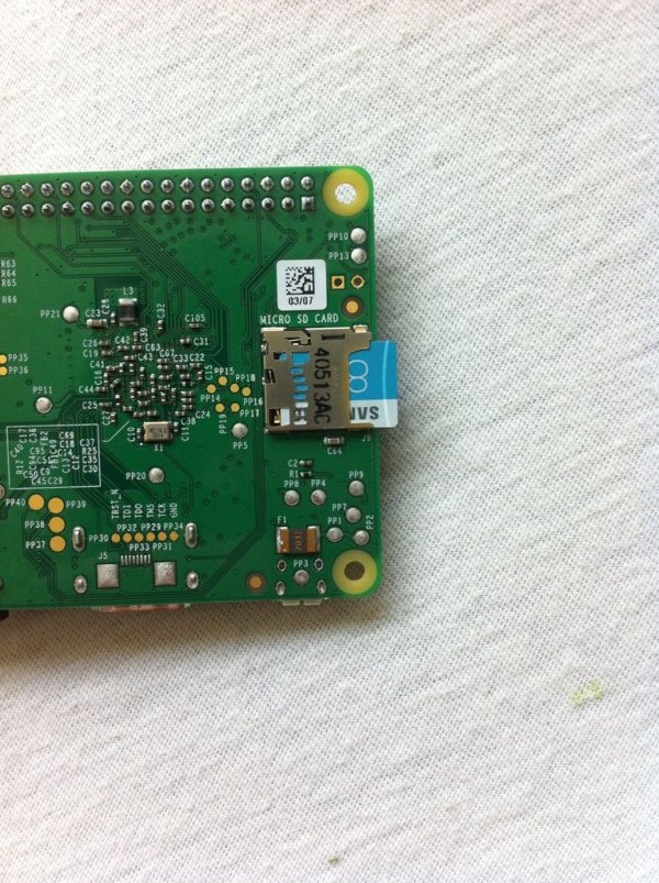 Raspberry Pi B+ Getting Started Guide schematic