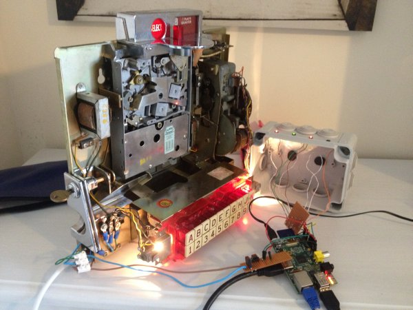 Raspberry Pi Project – A 1960s wallbox interfaced with Sonos schematic