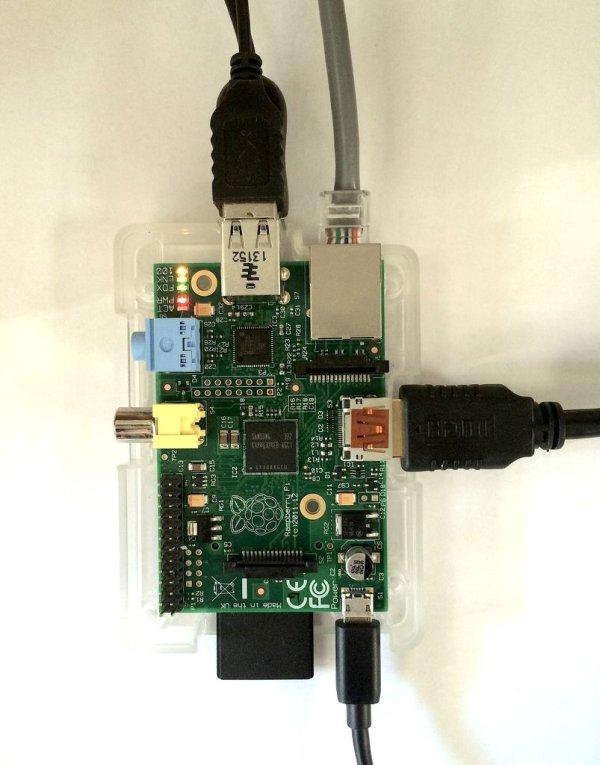 Raspberry Pi Screenshots schematic