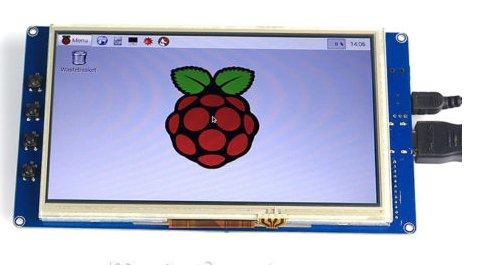 SainSmart 7 inch 800 480 TFT LCD Touchscreen Display for Raspberry Pi B Pi 2 For Sale.