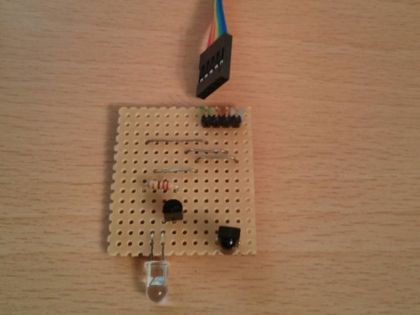 Web-based IR Remote on the Raspberry Pi