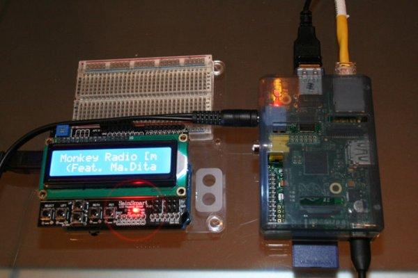 Arduino Raspberry Pi Internet Radio