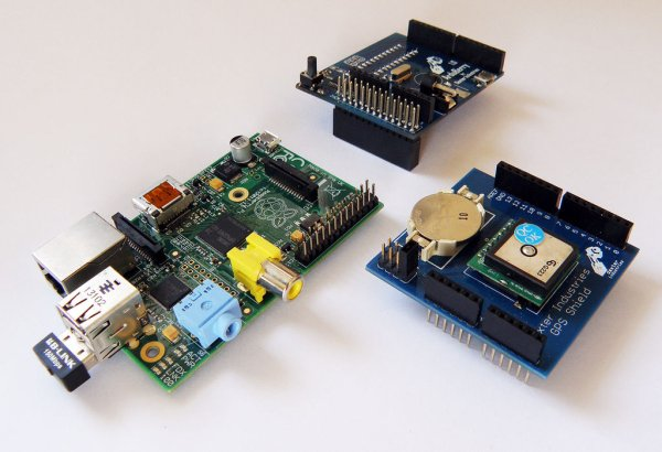 GPS and the Raspberry Pi schematic
