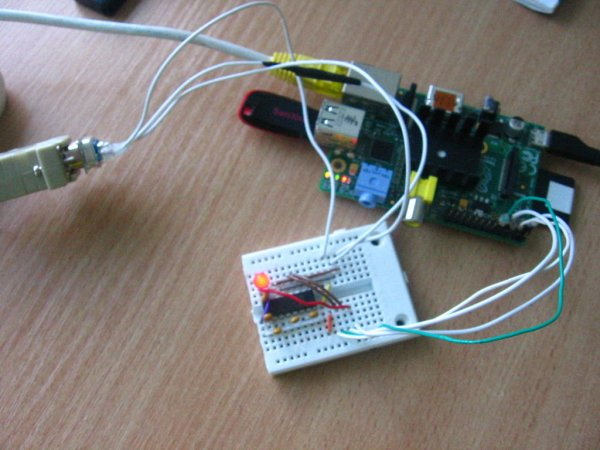 How to connect Raspberry Pi over Serial Port