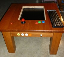 MAME gaming table with Raspberry Pi