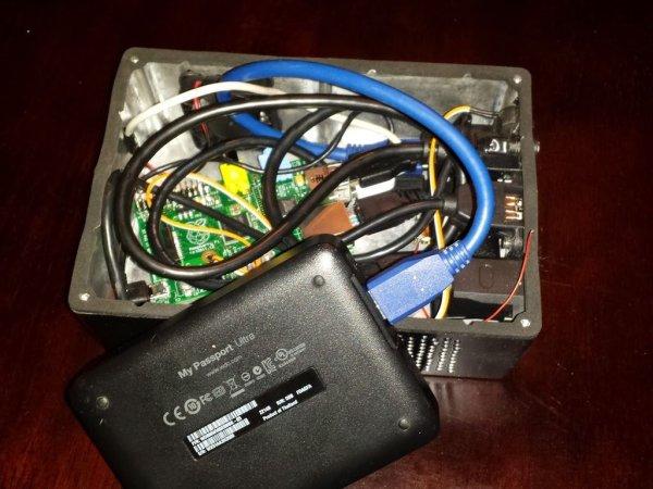 Mjolnir - The Portable Media Computer schematic