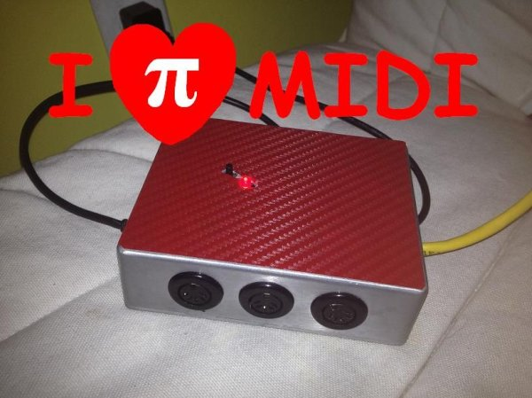 PiMiDi A Raspberry Pi Midi Box or How I Learned to Stop Worrying and Love MIDI