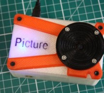 Picture – The 3D Printed Raspberry Pi Camera.
