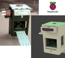 Raspberry PI Camera Spinner 3D Print