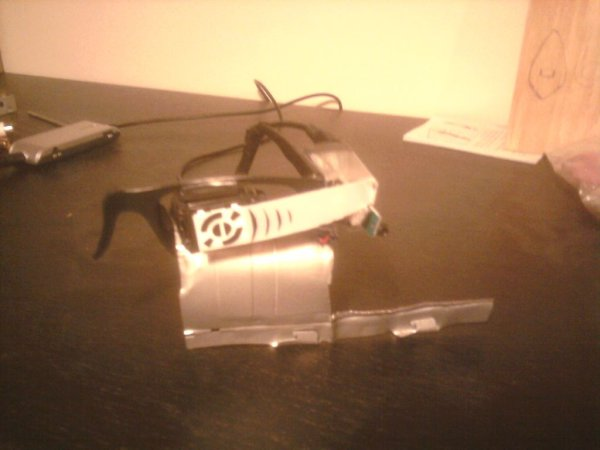 Raspberry Pi Google Glass simple and sleek