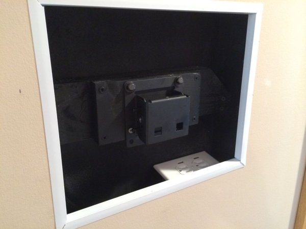 Recessed Wall Mount for Rasberry Pi Google Calendar schematic