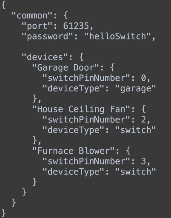 Simple home automation. RaspberryPi + Android schematic