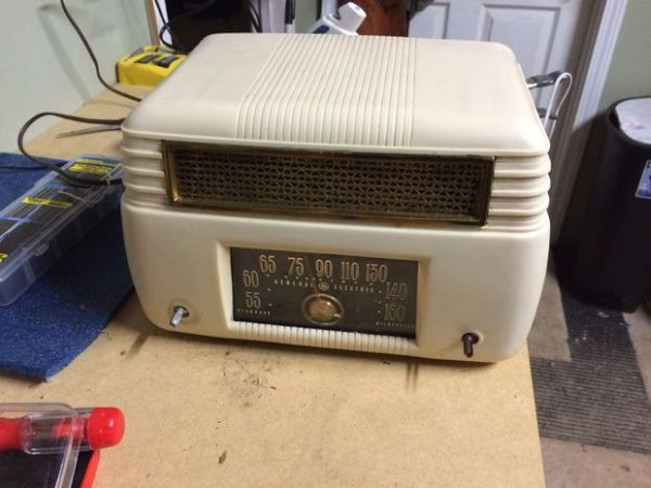 Antique Radio into an Airplay Speaker