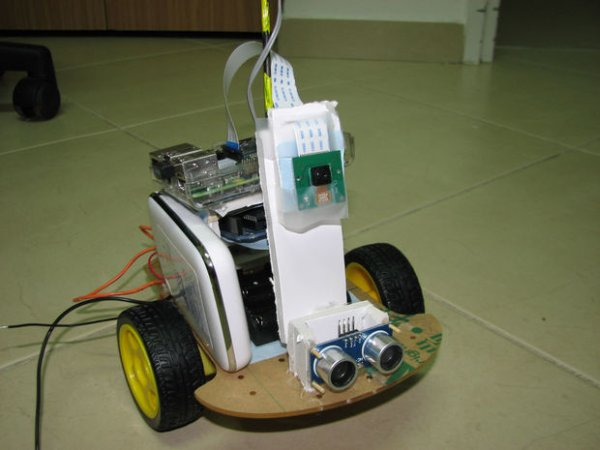 Build your internet controlled video streaming robot with