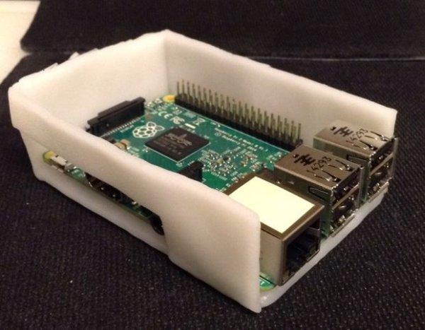 Instamorph Raspberry Pi Case schematich