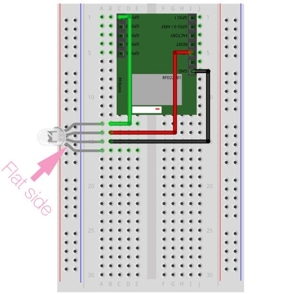 Raspberry Pi Bluetooth LE Controller for WS2812B NeoPixels schematich