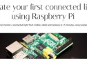 Raspberry Pi. Create your first Connected Light