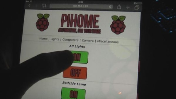 Raspberry Pi Home Automation  Control lights computers CCTV and more