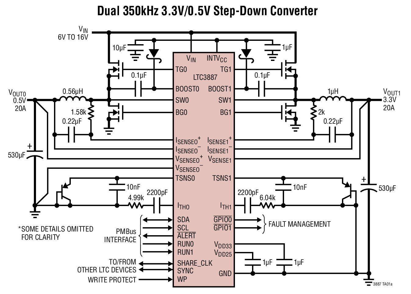 Buck converter starts up in just 70 ms
