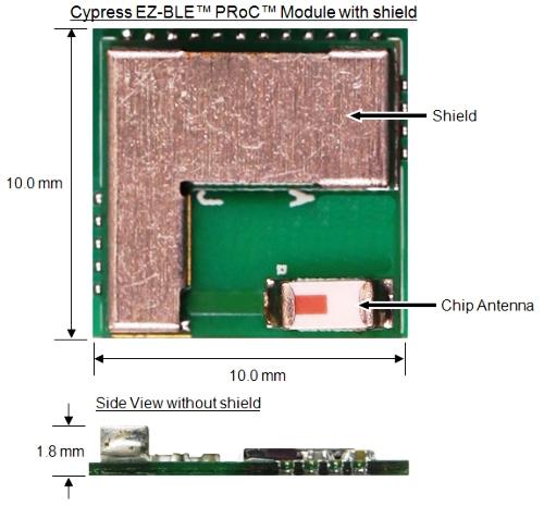 EZ-BLE Module Bluetooth Smart