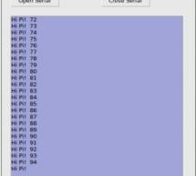 Raspberry Pi Serial Comms – Gambas plus wiringPi