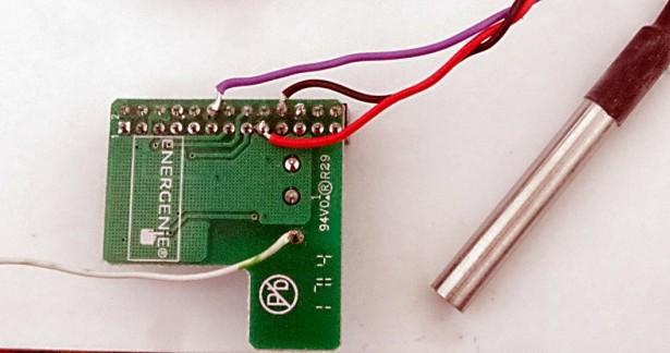 RaspberryPi + DS18B20 Temperature Sensor