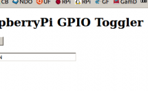 Raspberry Pi GPIO control with PHP