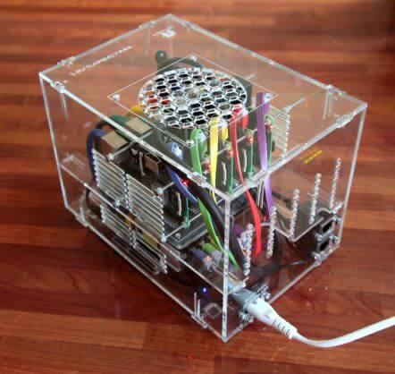 DIY 5 Node Cluster of Raspberry Pi 3s