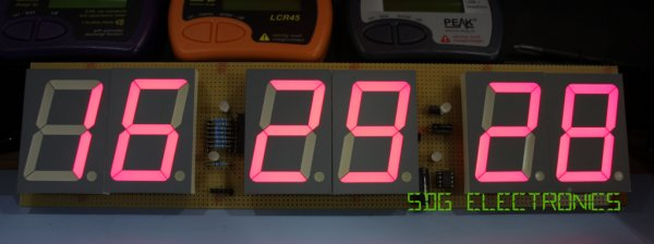 Digit LED Clock