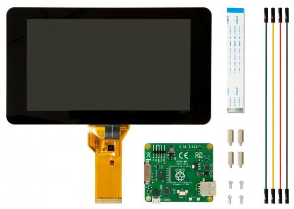 Plug-in touchscreen