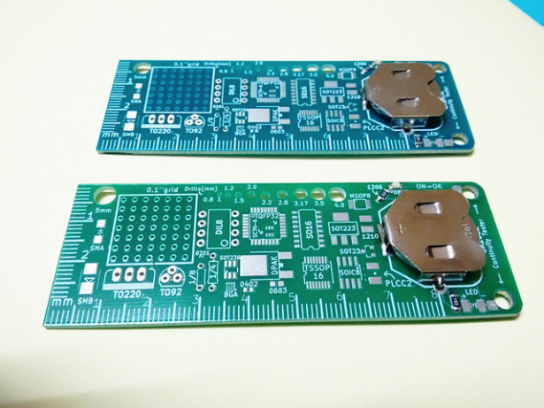 Maker's rule, the feature packed PCB multi-tool