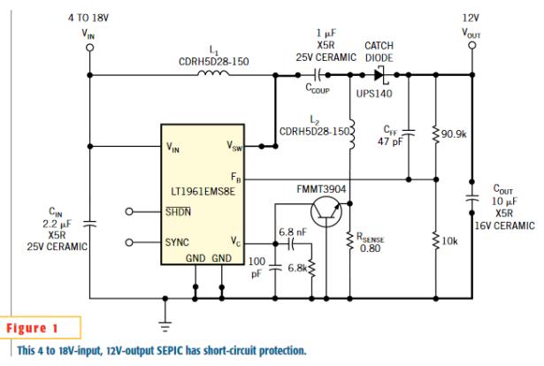 Single transistor provides