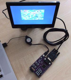 FPGA & Forth=VGA