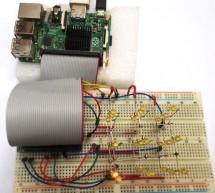 3X3X3 LED Cube with Raspberry Pi and Python Program