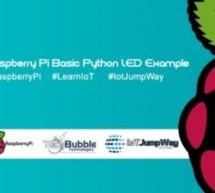 Basic LED Example With Raspberry Pi & IoT JumpWay