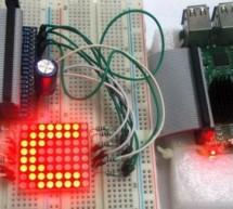 Controlling 8×8 LED Matrix with Raspberry Pi