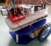 Raspberry Pi Based Obstacle Avoiding Robot using Ultrasonic Sensor