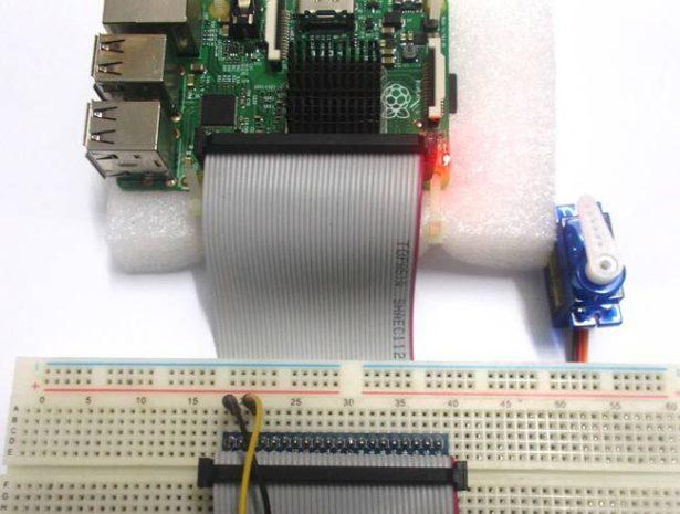 Servo Motor Control With Raspberry Piraspberry Pi Projects